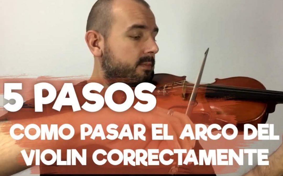 Como Pasar el Arco del Violin con estos 5 Pasos
