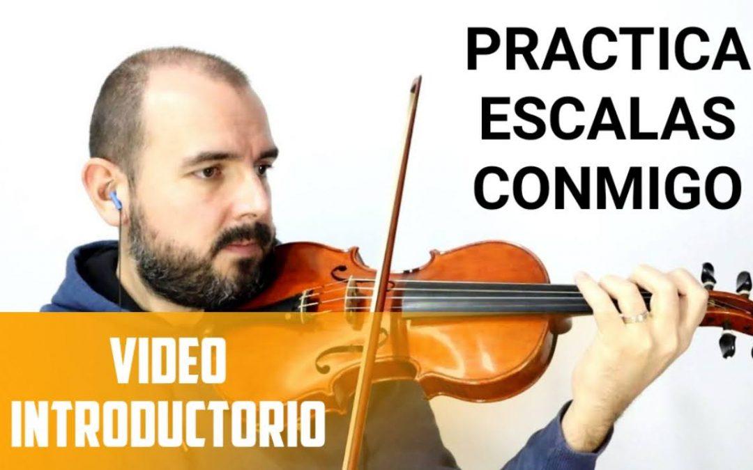 Practica Escalas Conmigo (Playlist de YouTube)