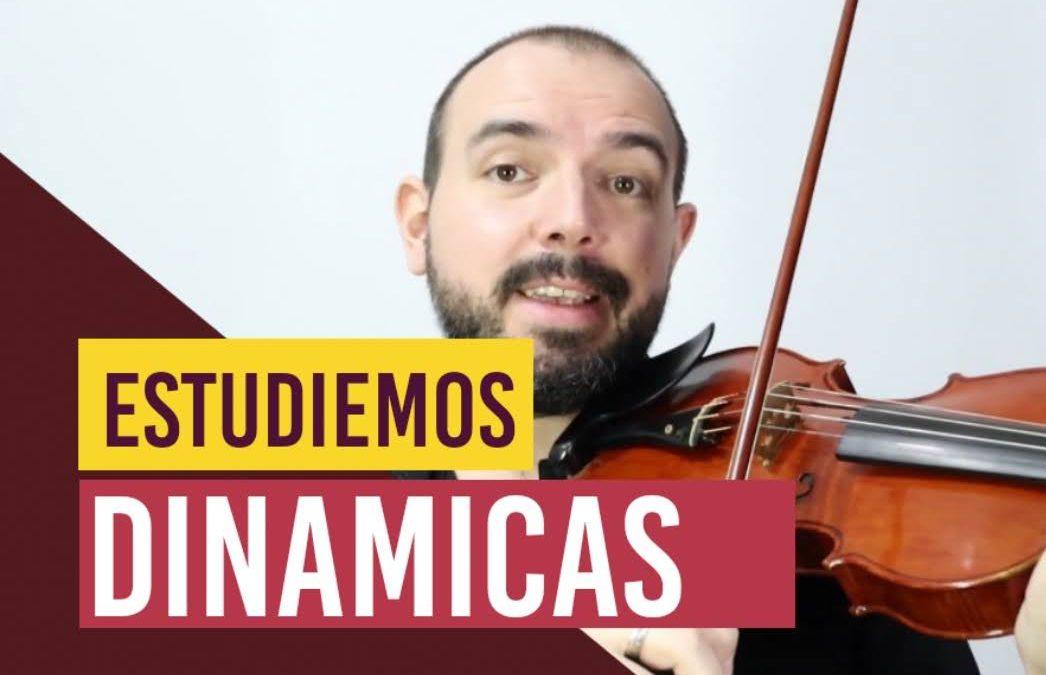 Como estudiar dinámicas en el violin – Pronación y Supinación