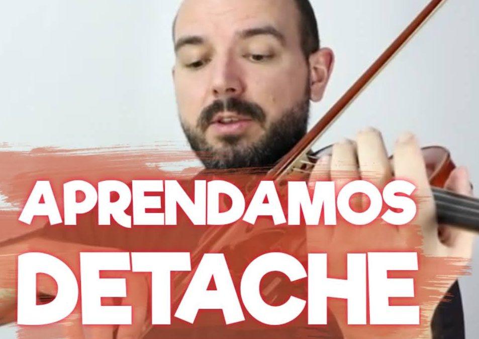 Como estudiar Detache en el violin