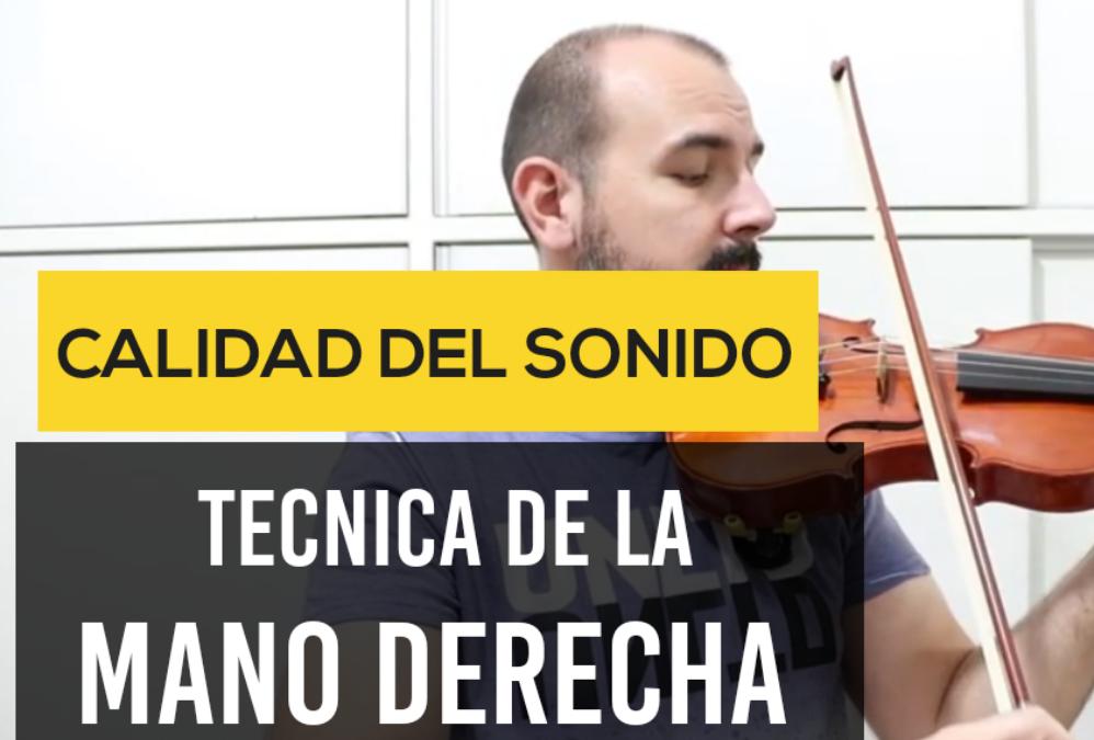 """Como mejorar el sonido del violin? (Técnica del """"Ocho"""")"""