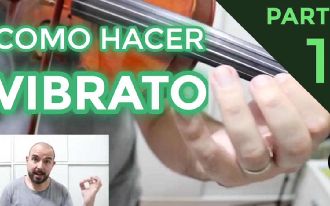 Como hacer Vibrato en el violin – Mini-Curso (PARTE 1)